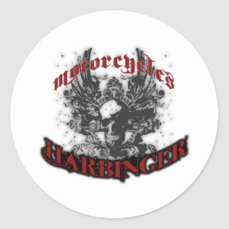 Harbinger Motorcycles Classic Round Sticker