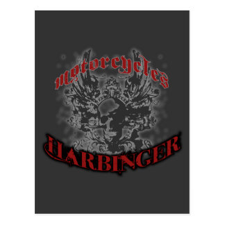 Harbinger Motorcycles Postcard