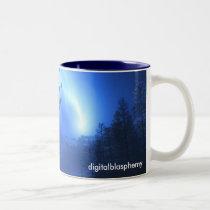 winter, comet, harbinger, apocalypse, end, time, omen, phenomena, Mug with custom graphic design