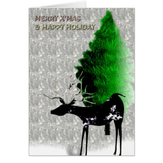 Harbinger of Merry Xmas Card