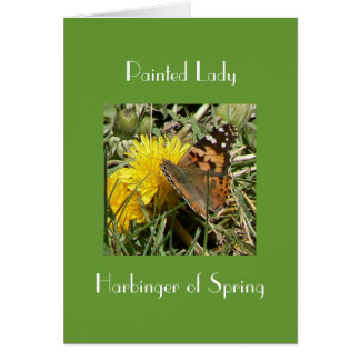 Harbinger of Spring Card