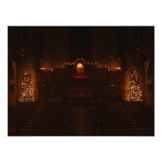 Harbison Chapel at Christmas Photo Print