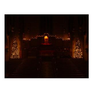 Harbison Chapel at Christmas Postcard