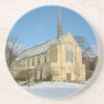 Harbison Chapel in Winter at Grove City College Coaster