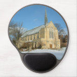 Harbison Chapel in Winter at Grove City College Gel Mouse Pad