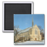 Harbison Chapel in Winter at Grove City College Magnet