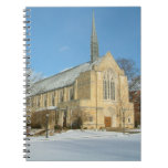 Harbison Chapel in Winter at Grove City College Notebook