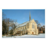 Harbison Chapel in Winter at Grove City College Photo Print