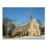 Harbison Chapel in Winter at Grove City College Postcard