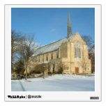 Harbison Chapel in Winter at Grove City College Wall Decal