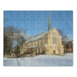 Harbison Chapel in Winter Jigsaw Puzzle