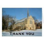 Harbison Chapel in Winter Thank You Card