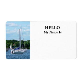 Harbor at Bristol RI Label