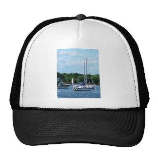 Harbor at Bristol RI Trucker Hat