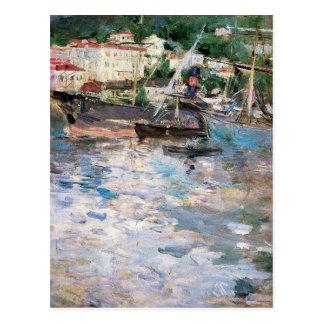 Harbor at Nice Postcard