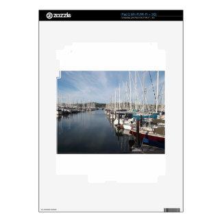 HARBOR AT SAUSALITO, CALIFORNIA 94965 DECALS FOR iPad 2
