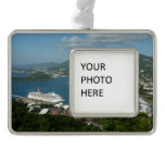 Harbor at St. Thomas US Virgin Islands Christmas Ornament