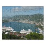 Harbor at St. Thomas US Virgin Islands Jigsaw Puzzle