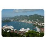 Harbor at St. Thomas US Virgin Islands Magnet