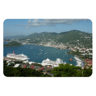 Harbor at St. Thomas US Virgin Islands Magnet