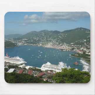 Harbor at St. Thomas US Virgin Islands Mouse Pad