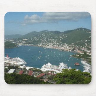Harbor at St. Thomas US Virgin Islands Mouse Pad