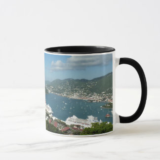 Harbor at St. Thomas US Virgin Islands Mug