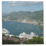 Harbor at St. Thomas US Virgin Islands Napkin