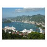 Harbor at St. Thomas US Virgin Islands Photo Print