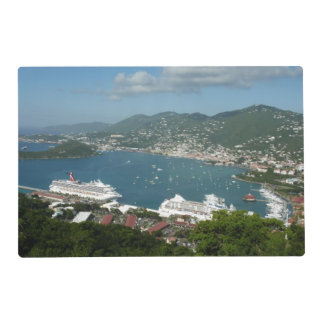 Harbor at St. Thomas US Virgin Islands Placemat
