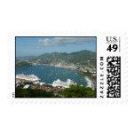 Harbor at St. Thomas US Virgin Islands Postage