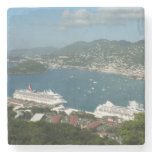 Harbor at St. Thomas US Virgin Islands Stone Coaster