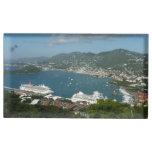 Harbor at St. Thomas US Virgin Islands Table Card Holder
