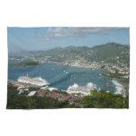 Harbor at St. Thomas US Virgin Islands Towel