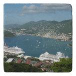Harbor at St. Thomas US Virgin Islands Trivet