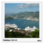 Harbor at St. Thomas US Virgin Islands Wall Sticker