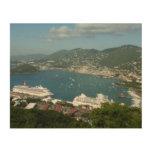 Harbor at St. Thomas US Virgin Islands Wood Print
