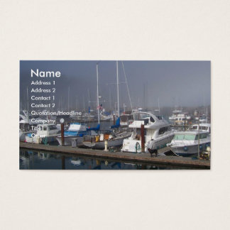 Harbor Boats Business Card