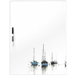 Harbor Boats Dry Erase Board