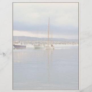 Harbor Boats Letterhead Paper