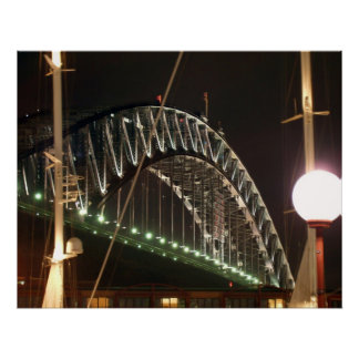Harbor Bridge Poster