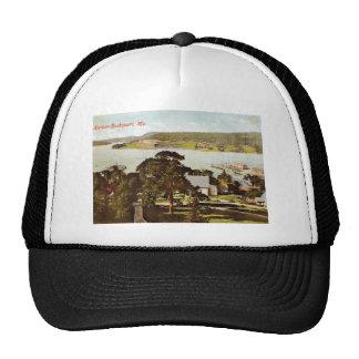 Harbor, Bucksport, Maine 1908 Vintage Trucker Hat