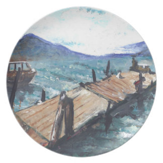 Harbor by the Sea Dinner Plates
