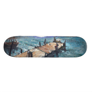 Harbor by the Sea Skate Deck