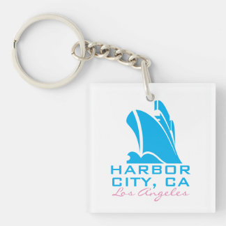Harbor City California Keychain