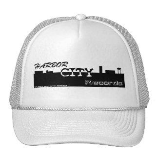 harbor city large logo trucker hat