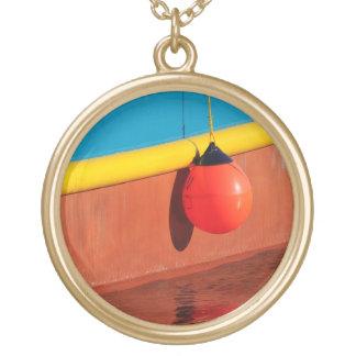 Harbor Colors Round Pendant Necklace