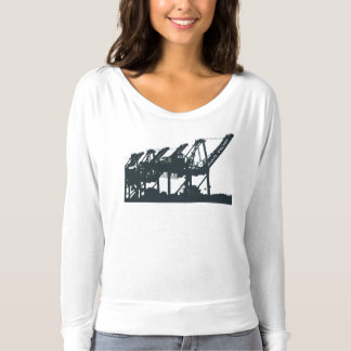 Harbor Cranes Bella Long-sleeve Shirt