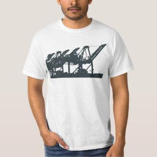 Harbor Cranes T-Shirt