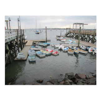 Harbor Dinghies Kittery Point Postcard